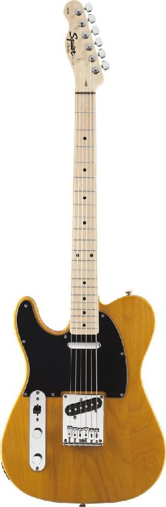 Squier By Fender Gaucher Telecaster Special Butterscotch Blonde Affinity