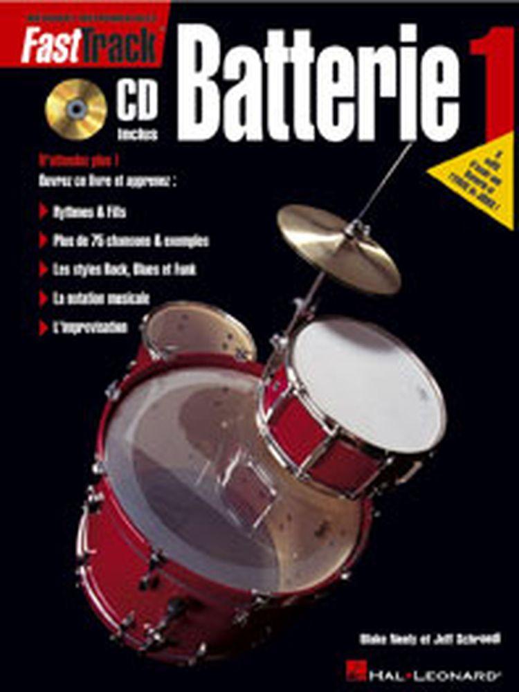 Fast Track Batterie Vol.1 + Cd