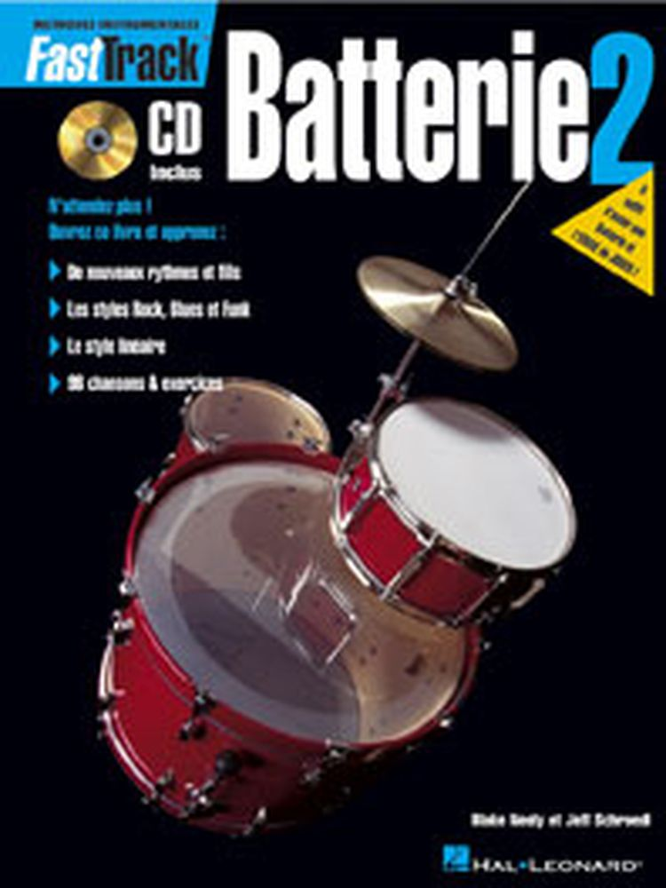Fast Track Batterie Vol.2 + Cd
