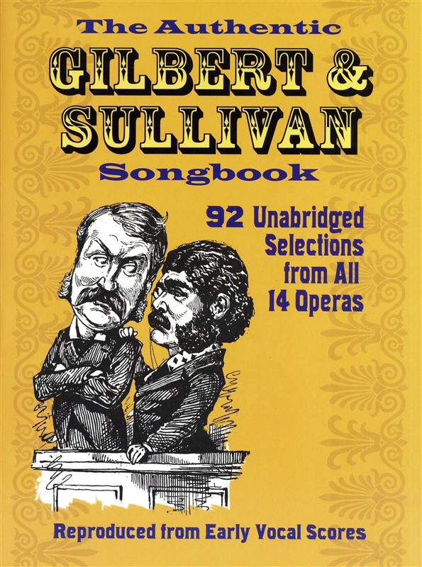 The Authentic Gilbert And Sullivan Songbook - Voice