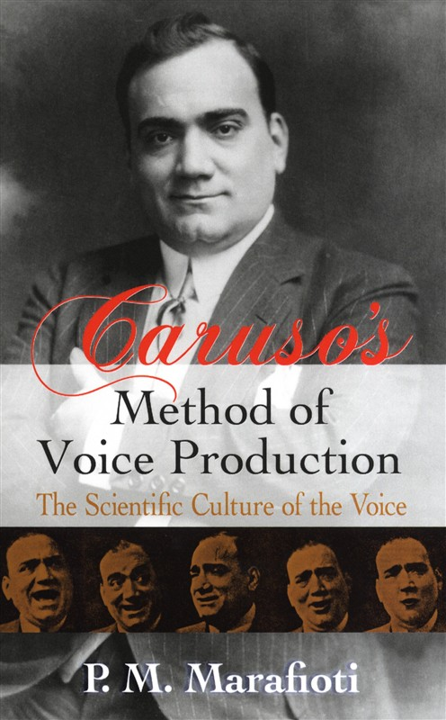 Caruso's Method Of Voice Production The Scientific Culture Of Vce- Voice