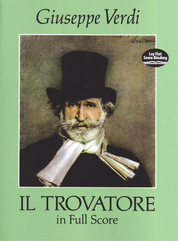 Verdi Giuseppe Il Trovatore Full Score - Orchestra