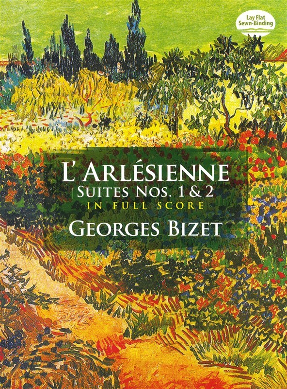 Georges Bizet L'arlesienne Suites Nos. 1 And 2 Full Score - Orchestra