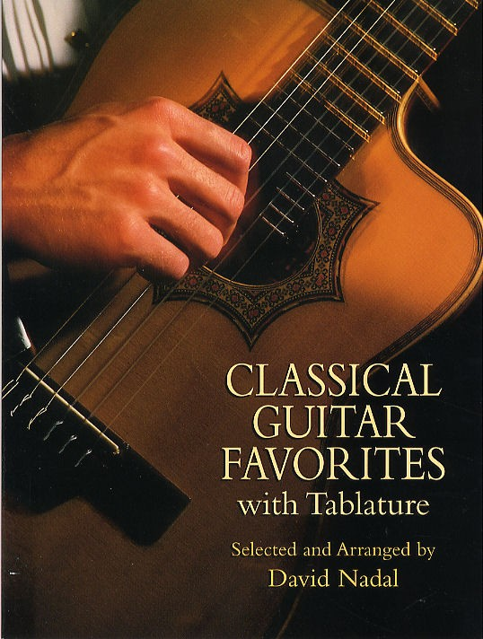 CLASSICAL GUITAR FAVORITES WITH TABLATURE - GUITAR TAB