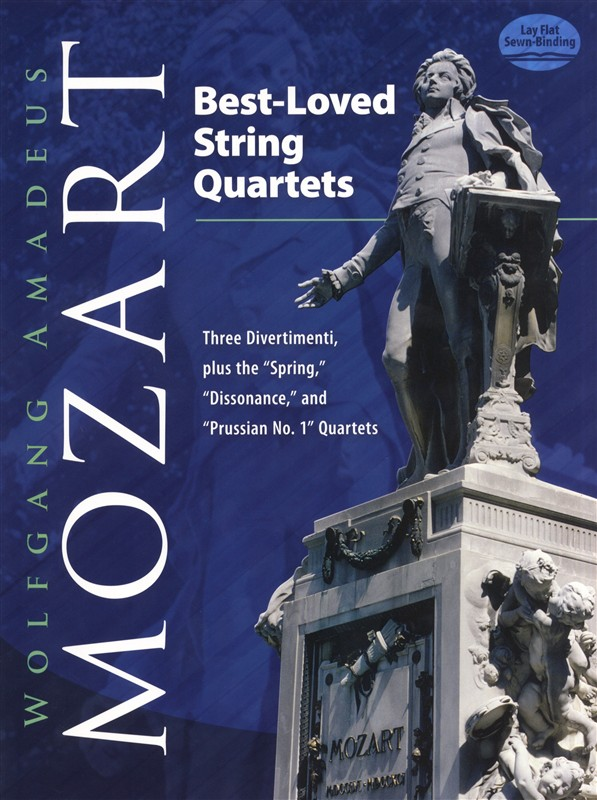 W.a. Mozart Three Divertimenti For Strings K.136 138 - String Quartet