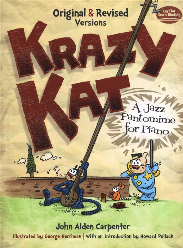 Carpenter John Alden Krazy Kat Jazz Pantomime- Piano Solo