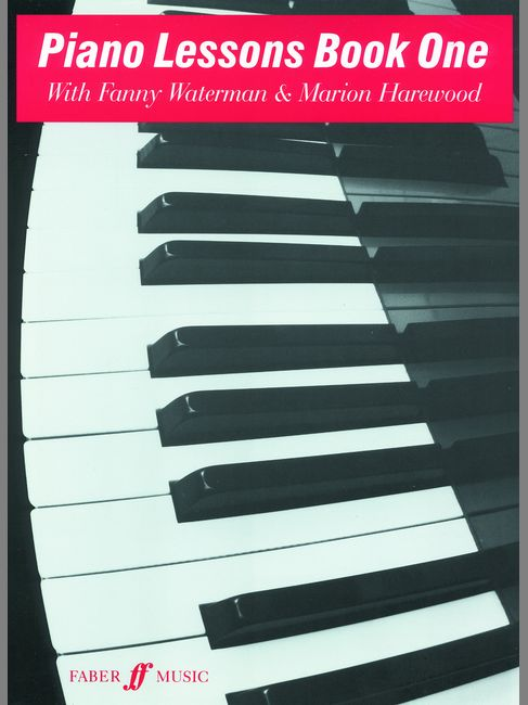 WATERMAN F / HAREWOOD M - PIANO LESSONS BOOK 1 - PIANO