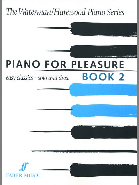FABER MUSIC WATERMAN F / HAREWOOD M - PIANO FOR PLEASURE BOOK 2 - PIANO