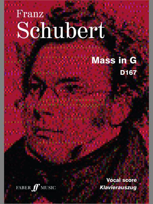 FABER MUSIC SCHUBERT FRANZ - MASS IN G - VOCAL SCORE (PAR 10 MINIMUM)