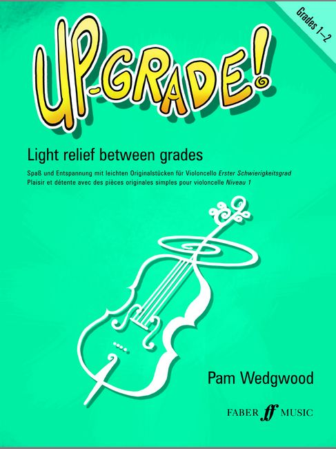 Faber music wedgwood pam up grade grade grades 1 2 cello and piano