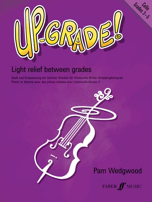 Faber music wedgwood pam up grade grade grades 3 5 cello and piano