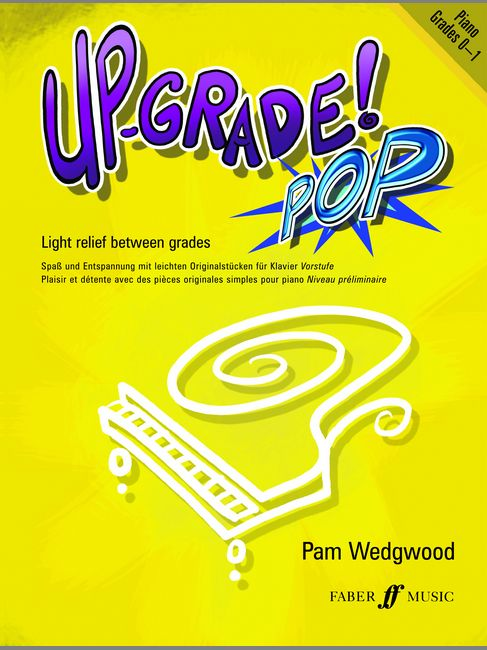Faber music wedgwood pam up grade pop grades 0 1 piano