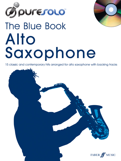PURESOLO - BLUE BOOK + CD - SAXOPHONE AND PIANO