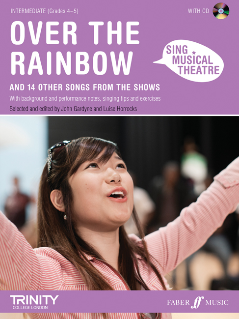 Sing Musical Theatre - Over The Rainbow + Cd