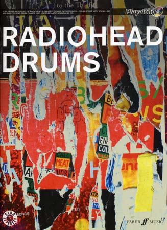 RADIOHEAD - AUTHENTIC DRUMS PLAYALONG + CD