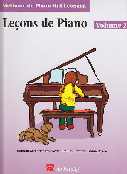 METHODE DE PIANO HAL LEONARD, LES LEÇONS DE PIANO VOL.2
