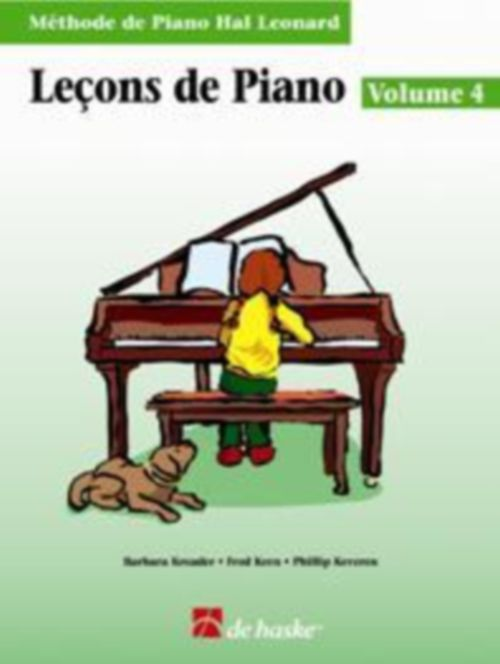 Leçons De Piano Vol.4 + Cd - Methode De Piano Hal Leonard