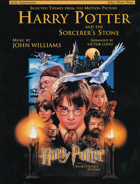 WILLIAMS JOHN - HARRY POTTER - PHILOSOPHER'S STONE - SAXOPHONE AND PIANO