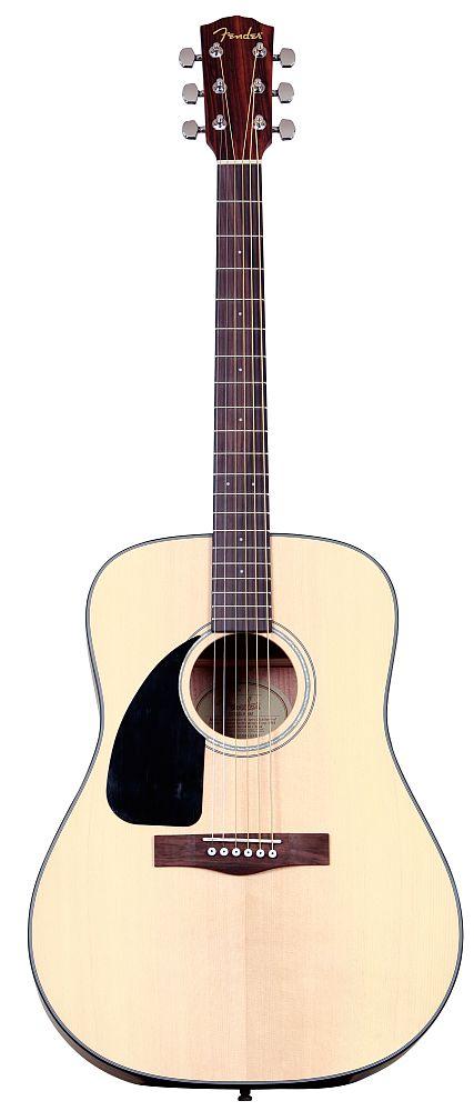 Fender Gaucher Cd 100 L/h Epicea Natural