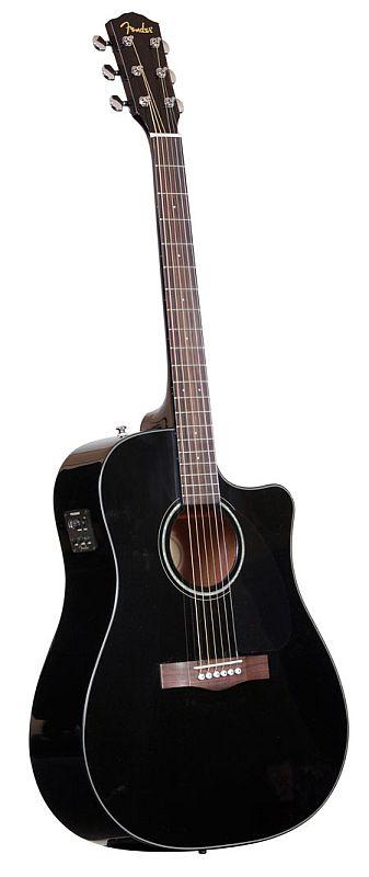 Fender Cd 60 Ce Black V2