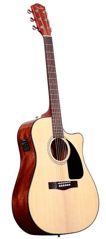 Fender Cd 60 Ce Natural V2