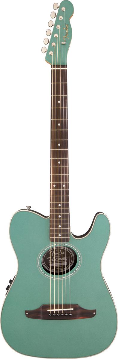 Fender Telecoustic Plus Sherwood Green