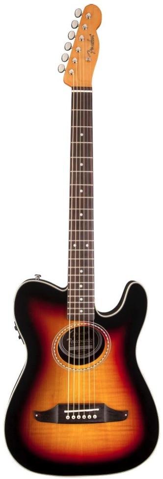 Fender Telecoustic Premier Sunburst