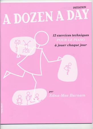 Burnam Edna-mae - A Dozen A Day (vol.initiation) En Français