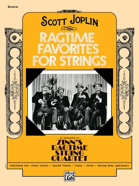 Joplin Scott - Ragtime Favorites For Strings - Stringsets