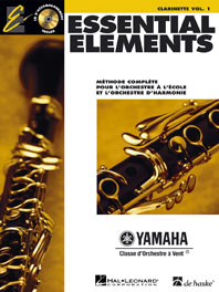 ESSENTIAL ELEMENTS VOL.1 + CD - CLARINETTE
