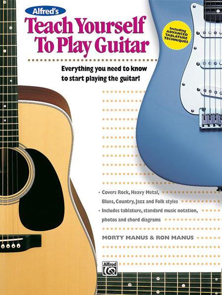 Manus Morton - Teach Yourself To Play Guitar Book + Cd - Guitar