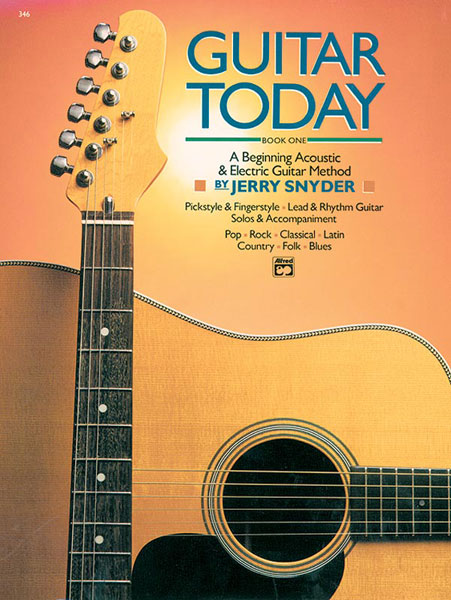 SNYDER JERRY - GUITAR TODAY BOOK 1 + CD - GUITAR