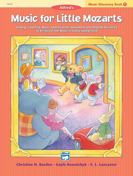 Little Mozarts Discovery Book 1 - Piano