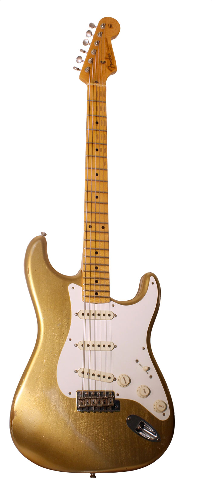 Fender Custom Shop Stratocaster 57 Relic Hle Gold + Etui
