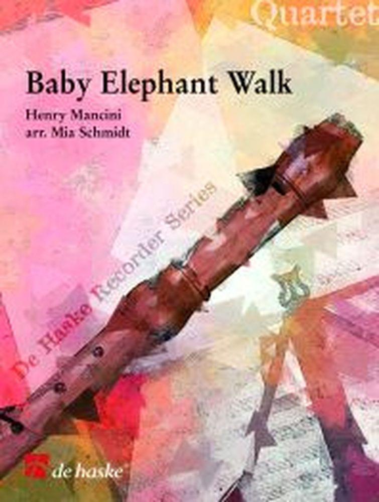 Mancini H. - Baby Elephant Walk - Quatuor Flutes A Bec