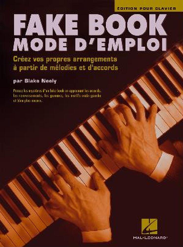 Neely Blake - Fake Book Mode D'emploi - Clavier