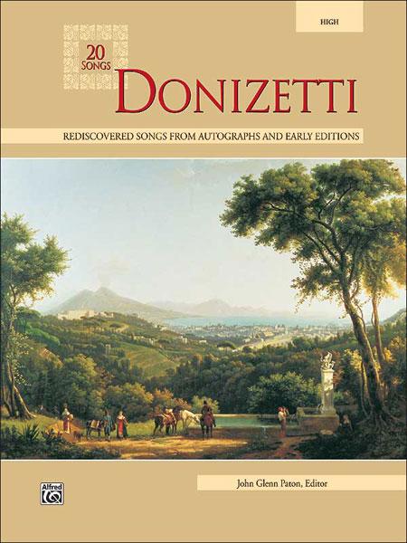 Paton John Glenn - Donizetti 20 Songs - Medium And High Voice (par 10 Minimum)