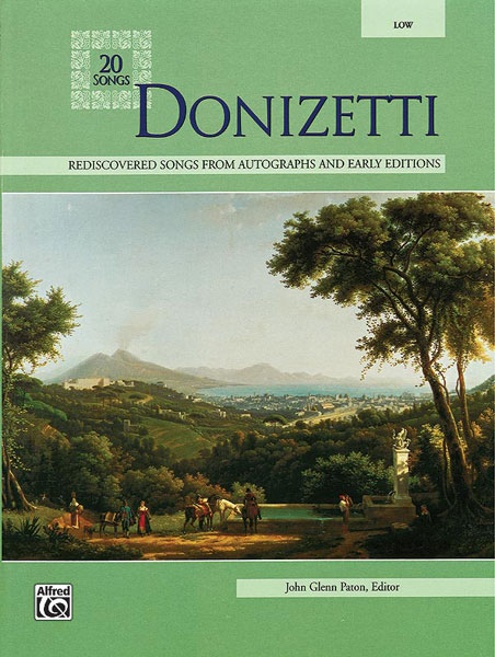 Paton John Glenn - Donizetti 20 Songs - Medium And Low Voice (par 10 Minimum)