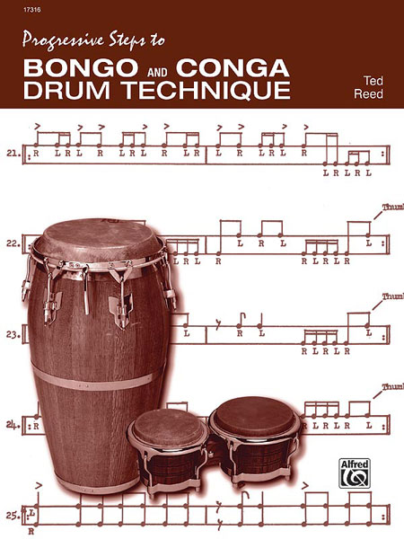Reed Ted - Progressive Steps To Bongo And Conga - Drum