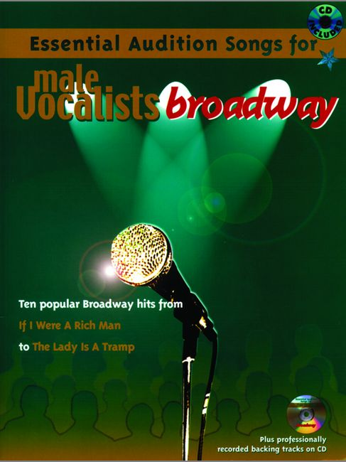 Audition Songs - Broadway + Cd (male) - Pvg