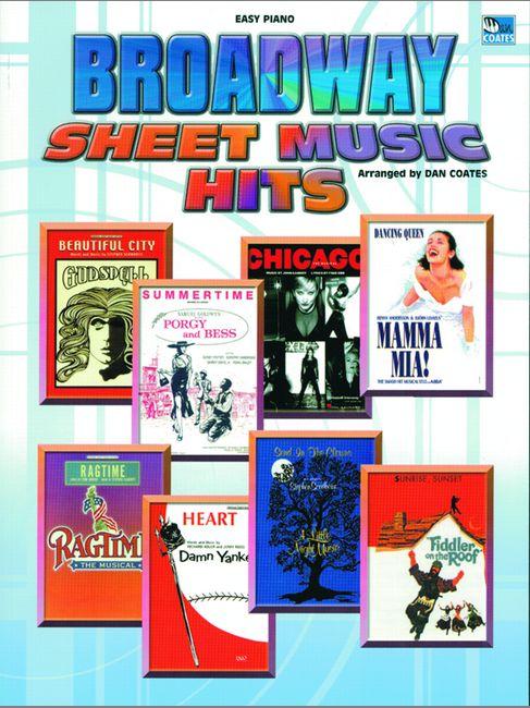 Broadway Sheet Music Hits - Easy Piano
