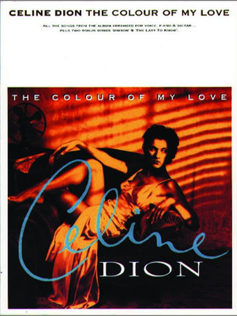 Dion Celine - Colour Of My Love, The - Pvg