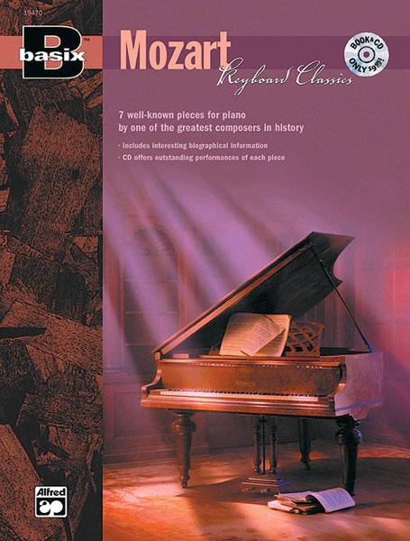 Mozart Wolfgang Amadeus - Keyboard Classics Basix Series - Piano