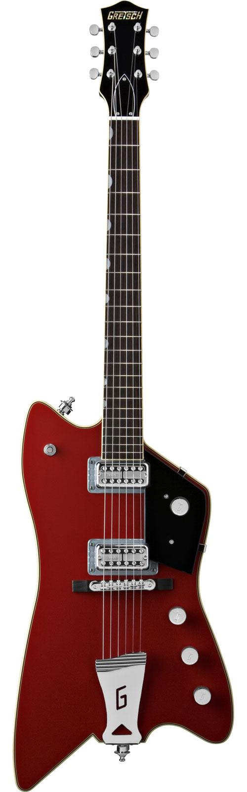 Gretsch Billy-bo Jupiter Thunderbird Tv Jones Power'tron Firebird Red + Etui
