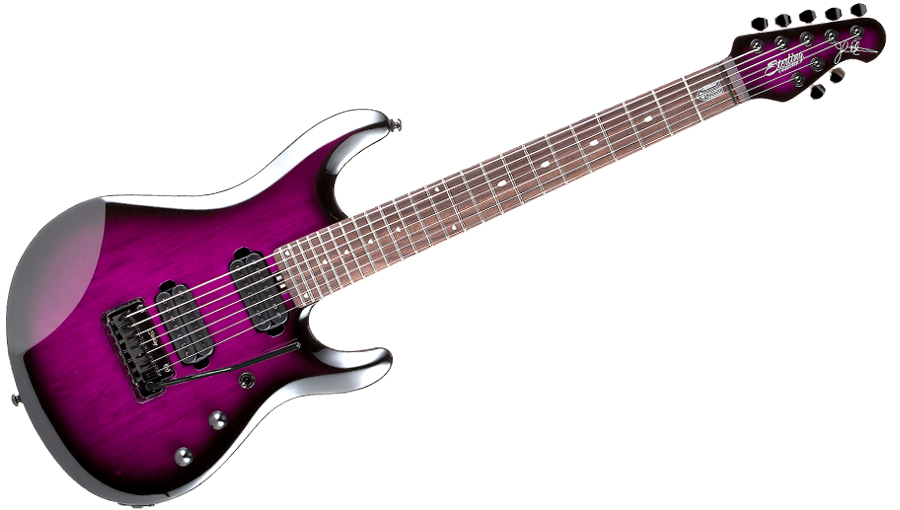 Sterling By Music Man John Petrucci Signature Jp70 Translucent Purple Burst