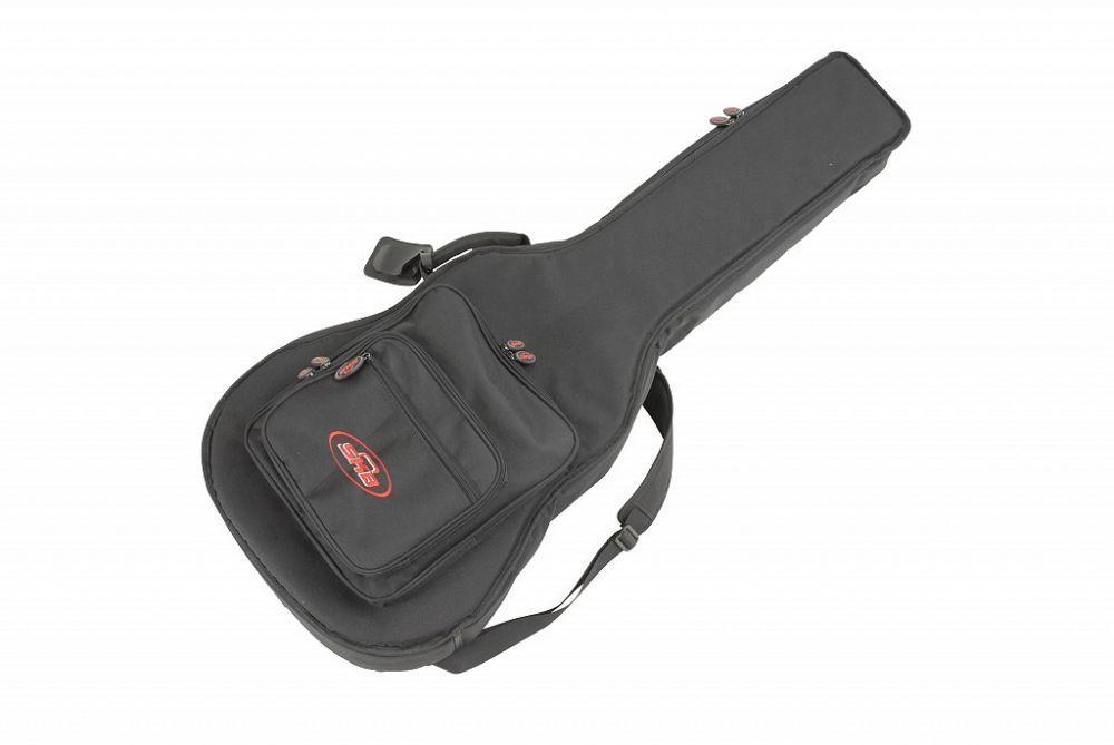 Skb 1skb gb18 housse gig bag pour guitare acoustique for Housse guitare folk