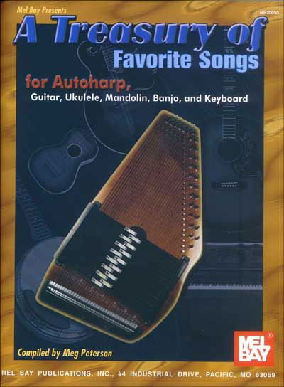 Peterson Meg - A Treasury Of Favorite Songs For Autoharp - Harp