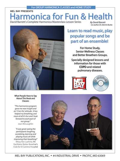 Barrett David - Harmonica For Fun And Health + Cd - Harmonica
