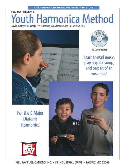 Barrett David - Youth Harmonica Method + Cd - Harmonica