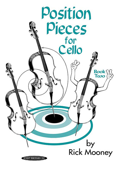 Alfred publishing mooney rick position pieces book 2 cello